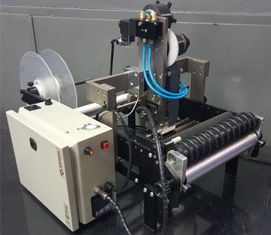 Etiquetadora Semiautomática para Envases Cilíndricos - EFEcono